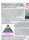 Keeping Toxins Out: Monitoring for Ozone (O₃) in Homes & Offices - Application Note