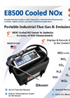 E Instruments - Model E8500 - Cooled NOx Portable Emissions Analyzer - Brochure