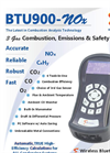 E Instruments - Model BTU900-NOx - Combustion, Emissions & Safety Gas Analyzer - Brochure
