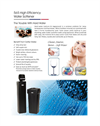 Canature-USA - 565 - High-Efficiency Water Softener Brochure
