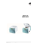 Hettich - Model MIKRO 200 & MIKRO 200R - Tabletop Microliter Centrifuges - Manual
