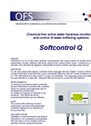 Model Softcontrol Q - Device for Online Water Hardness Monitoring - Datasheet
