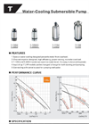 Water-Cooling Submersible Pump-T Series