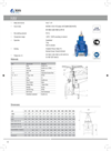 Hakohav - Model Hav AWWA - Resilient Seated Gate Valve Brochure