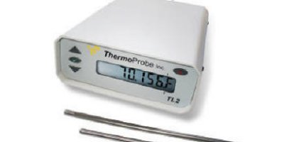 ThermoProbe - Model TL2  - 2-channel Precision Benchtop Thermometer