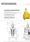 Cast Iron Gate Valves for Gas Brochure