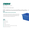 Model NPL 200 - Recycling Bins Brochure
