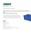Model NPL 205 - Recycling Bins Brochure