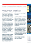 VAPUR - Model API - Interfaces - Datasheet