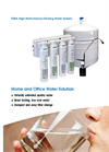 Hydrotech - PURA QCRO - Quick Change Reverse Osmosis System Brochure