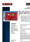 MicroView Mini Moisture Transmitter for Trace Analysis Brochure