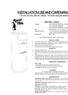 Model G6 - Point-of-Use Water Coolers Manual