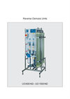 Model UO 600 ND-UO 1500 ND - Reverse Osmosis Units  Brochure