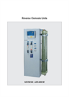 Model UO50W - 500W - Wall Mounted Reverse Osmosis Unit – Brochure