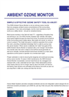 Ambient Ozone Monitor Brochure