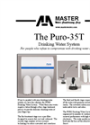 Puro - Model 35T - Drinking Water System Brochure