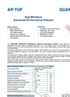 QUANTUM - Model APDs - Sub-Miniature Microchannel Plate Brochure