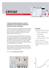 Polymer Char - Model CRYSTAF - Fully Automated Instrument - Brochure