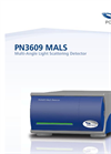 MALS - Model PN3609 - Multi-Angle Light Scattering Detector- Brochure