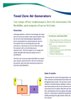 Texol - Zero Air Generators Brochure