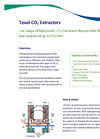 Texol - CO2 Free Extractors Brochure