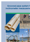 Grooved Pipe Systems for Inclinometer Measurements- Brochure