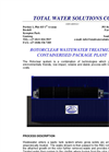 TWS - Rotorclear Wastewater Treatment Containerised Package Plants Brochure