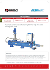 Amiad - MCFM - Automatic Continuous Self-Cleaning Filter Brochure
