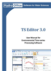 TS Editor - Version Time - Data Processing Software- Brochure