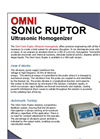 General Laboratory Homogenizer (GLH) Brochure