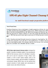 SPE-03 - Plus Eight-Channel Cleanup Station Brochure