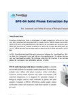 SPE-04 - Multi Functional Solid Phase Extraction System Brochure