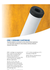 Pentair - CRE-1 - Sediment Reduction Cartridges Datasheet