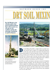 Dry Soil Mixing Services