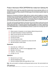 Iron Zapper - Systems Technical Brochure