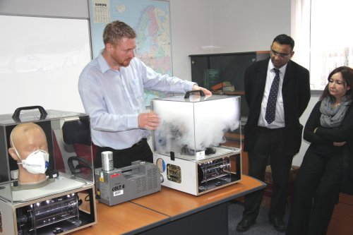 Workshop focuses on dust protection and monitoring