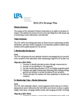 LPA Strategic Plan 2014 Datasheet