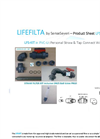LifeFilta LFS-PVC-KIT Product Sheet