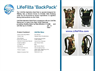 LifeFilta LFBP Hydration Backpack Product Sheet