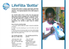 LifeFilta LFB Bottle Product Sheet