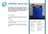 LifeFilta LFJC Jerry Can Product Sheet