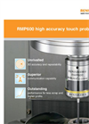 Renishaw - Model RMP600 - High-Accuracy Touch Probe - Brochure