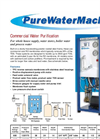 PWM-600 - Commercial Water Purification System Brochure