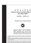 Eclipse - R.O Drinking Water Systems Datasheet