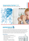 Impression Series R.O. Drinking Water Systems Brochure