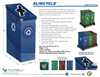 SlimCycle - - 2 Bin Recycle & Waste Station Brochure