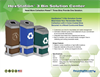 Hexstation - 3-Bin Recycling and Trash Station Brochure