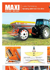MAXI - Model T - Fertilizer Spreader Brochure