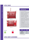 Cattle Chute Specifications Brochure