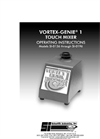 Vortex-Genie - Model 1 - Touch Mixer Brochure